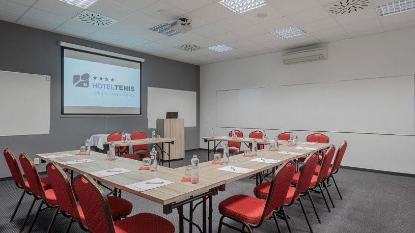 kongresové školiace konferenčné priestory Hotel Tenis Zvolen