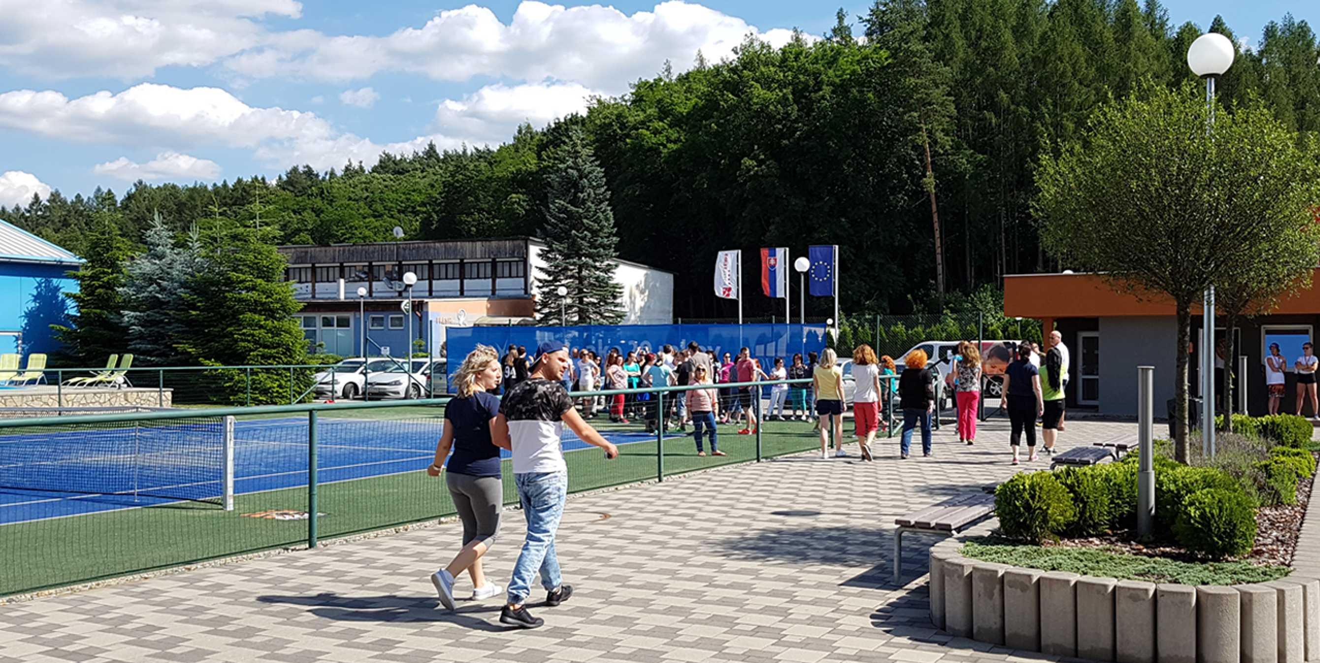 teambuilding športové hry v Hoteli Tenis vo Zvolene