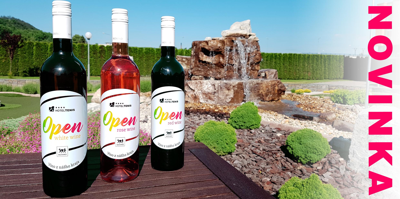 víno z nášho kraja hotel tenis open wine movino