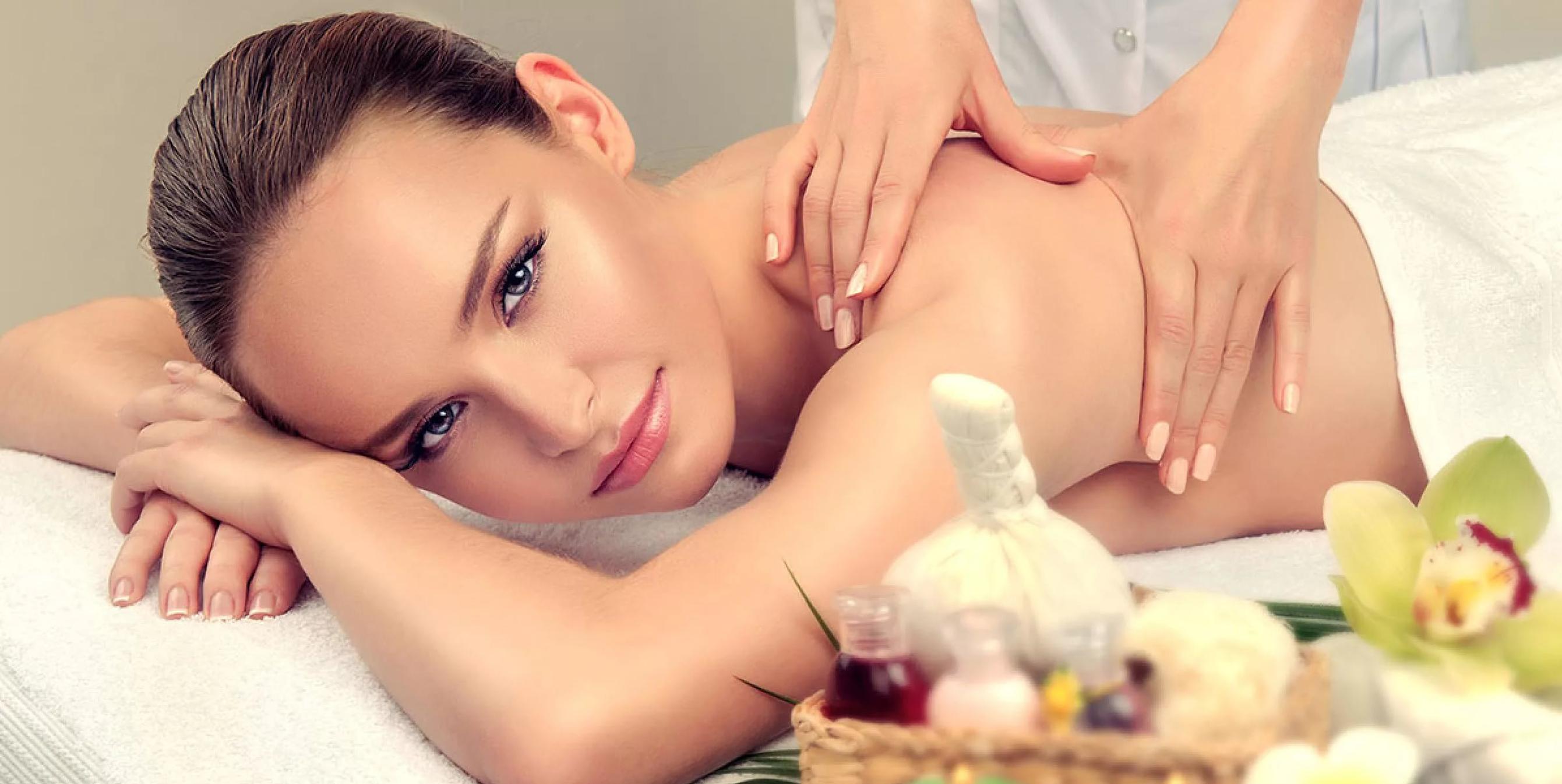 luxusná olejová masáž